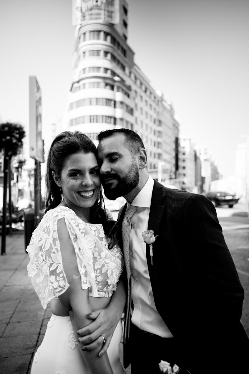 Alessandra & Chema | boda en el ático