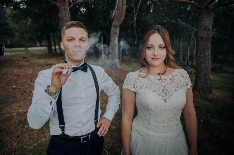 Irene & Ivan | countryside mountain wedding