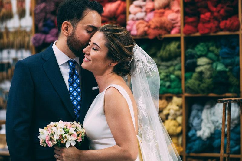 María & Carlos | boda en Real Fábrica de Tapices